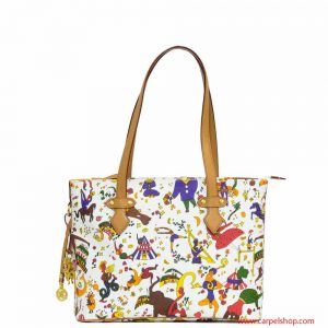 Piero Guidi Magic Circus Shopper Min Bianca
