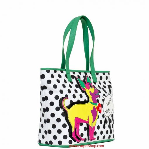 Braccialini Pop Dog Shopper lato