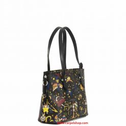 Piero Guidi Magic Circus Shopper Mini Nero lato