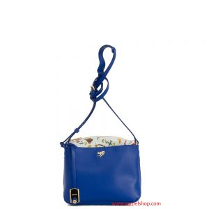 Piero Guidi Magic Circus Leather Tracollina Blu