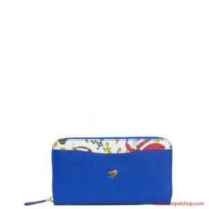 Portafoglio Magic Circus Leather Blu