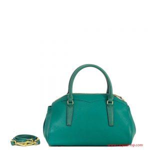 Trussardi Jeans Galapagos Bauletto Verde Smeraldo dietro