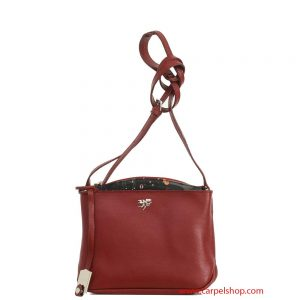 Piero Guidi Tracollina Magic Circus Leather Bordeaux