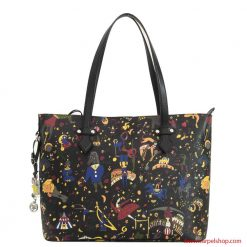 Piero Guidi Magic Circus Shopper Nero