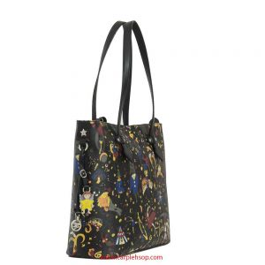 borsa-piero-guidi-magic-circus-shopper-nero-lato