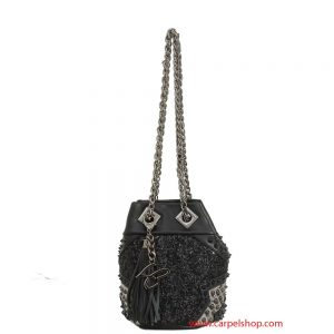 La Carrie Bag mini Glitter