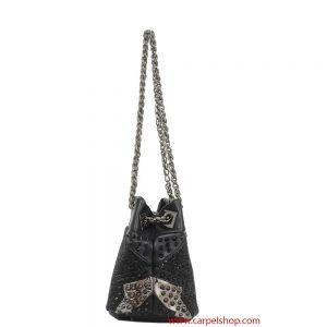 La Carrie Bag mini Glitter lato