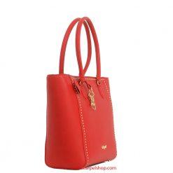 Blugirl Microrivetti Shopper Rosso lato