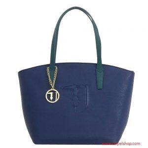 Trussardi Jeans Ischia Shopper Blu