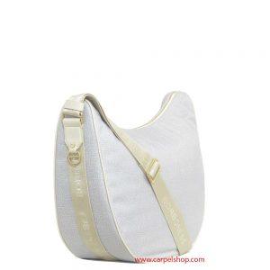 Borbonese Luna Bag Light Grey