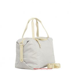 Borbonese Baulotto Light Grey lato