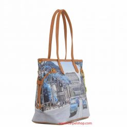 Y Not Weekend in Rome Shopper lato