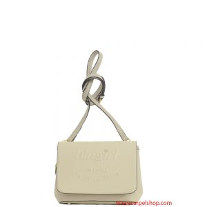 Blugirl Milano via della Spiga Mini Bag con Pattina Light Grey