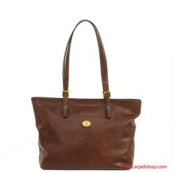 The Bridge Shopper in pelle fronte