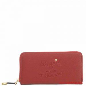 Blugirl Portafoglio Zip Around Rosso