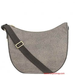 Borbonese Luna Bag Medium Op Classic