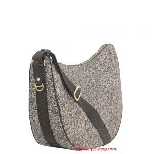 Borbonese Luna Bag Medium Op Classic lato