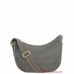 Borbonese Luna Bag Small Mud