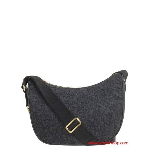 borsa-borbonese-luna-bag-small-nero-fronte