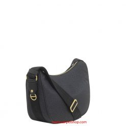 Borbonese Luna Bag Small Nero lato