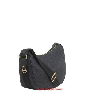 Borbonese Luna Bag Small Nero lato