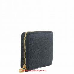 Borbonese Portafoglio Zip Around Black lato