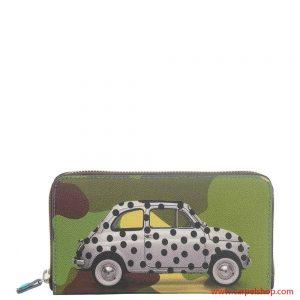 Portafoglio Gabs Studio Fiat 500 Pois Camouflage