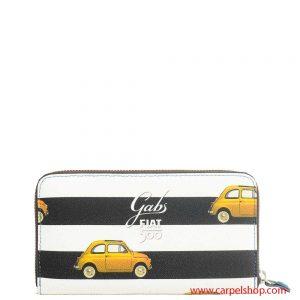 Portafoglio Gabs Studio Fiat 500 Stripes