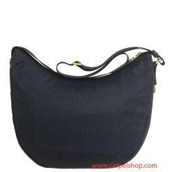Borbonese Luna Bag Tasca Nero dietro