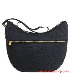 Borbonese Luna Bag Medium Tasca Nero