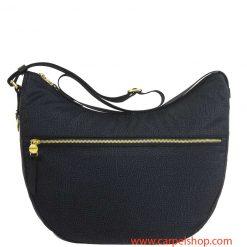 Borbonese Luna Bag Medium Tasca Nero