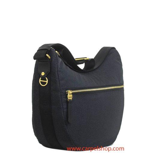 Borbonese Luna Bag Tasca Nero lato