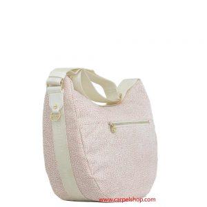 Borsa Borbonese Luna Bag Tasca Coco lato