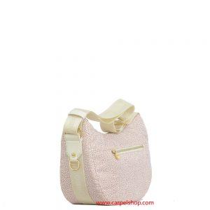 Borsa Borbonese Luna Bag Tasca Small Coco lato