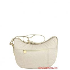 Borsa Borbonese Luna Bag Tasca Small Cream