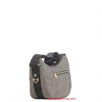 Borbonese Luna Bag Tasca Small Op Classic lato
