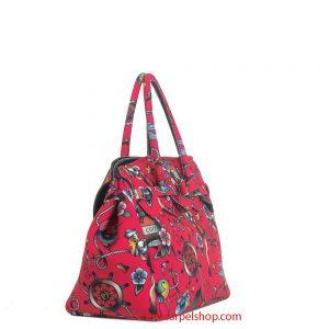 Save My Bag Miss Tattoo Porpora lato