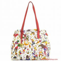 Piero Guidi Magic Circus Shopper Bianco