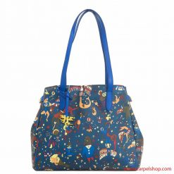 Piero Guidi Magic Circus Shopper Blu di Prussia