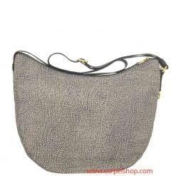 Borbonese Luna Bag Medium Tasca Op Classic dietro