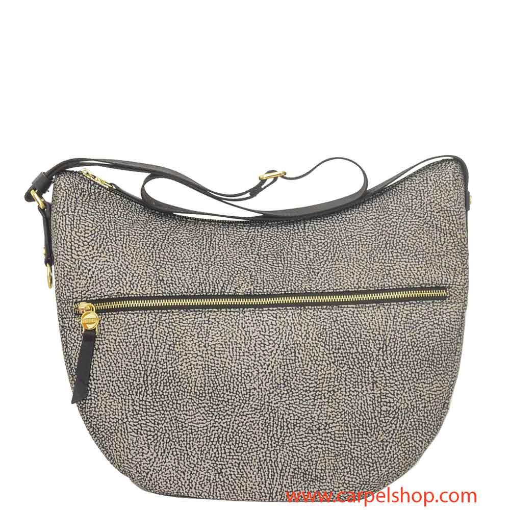 Borsa Borbonese Luna Bag Medium Tasca Op Classic