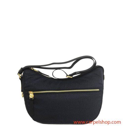 Borsa Borbonese Luna Bag Tasca Small Nero