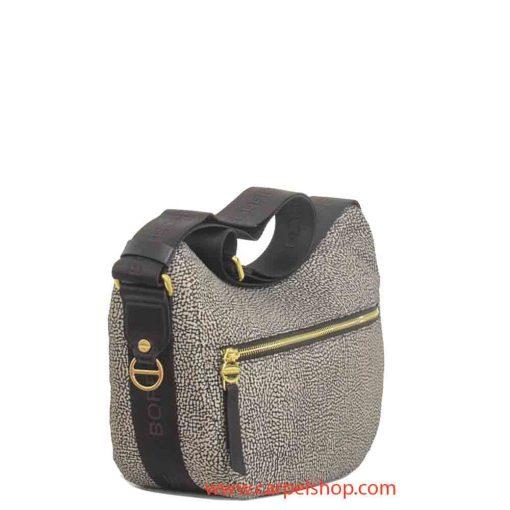 Borsa Borbonese Luna Bag Tasca Small Op Classic lato
