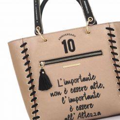 Le Pandorine Anniversary Bag Altezza Bronze particolare