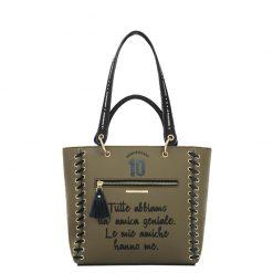 Le Pandorine Anniversary Bag AMICHE Army Green