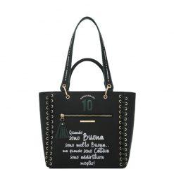 Le Pandorine Anniversary Bag Buona Black