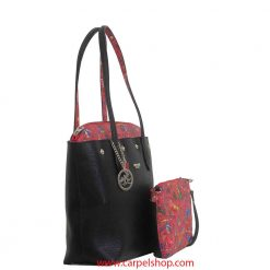 Piero Guidi Be Magic Shopper Nero/Rosso lato