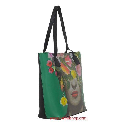 Aviero Rodriguez Shopper Frida Flower lato