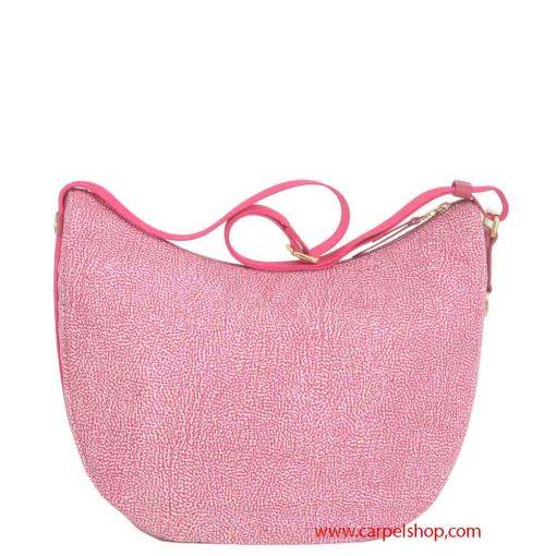 Borsa Borbonese Luna Bag Medium Tasca Radish dietro