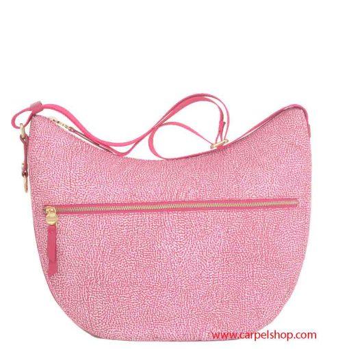 Borsa Borbonese Luna Bag Medium Tasca Radish